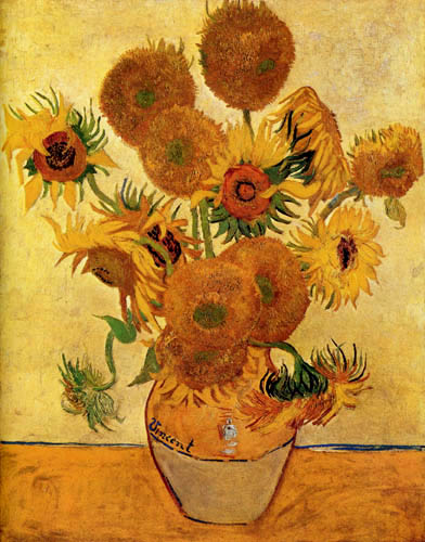 Vincent van Gogh - Vierzehn Sonnenblumen