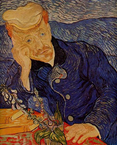 Vincent van Gogh - Bildnis Doktor Gachet