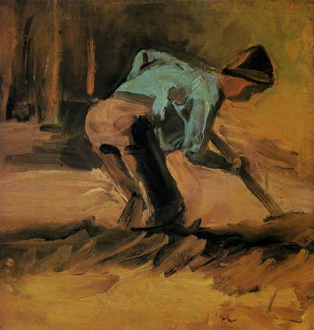 Vincent van Gogh - A farmer working