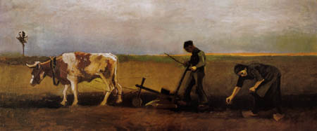 Vincent van Gogh - Plantar patatas