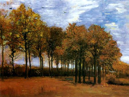 Vincent van Gogh - Herbstlandschaft