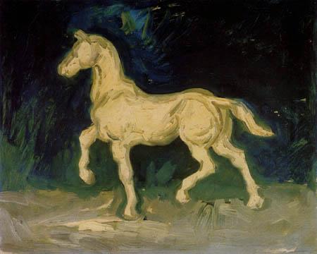 Vincent van Gogh - Plaster figure of a horse
