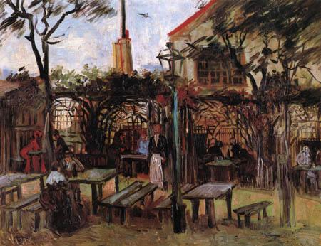 Vincent van Gogh - La Guinguette, Montmartre