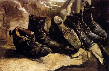 Vincent van Gogh - Tres pares de zapatos