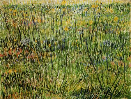 Vincent van Gogh - Blühende Wiese