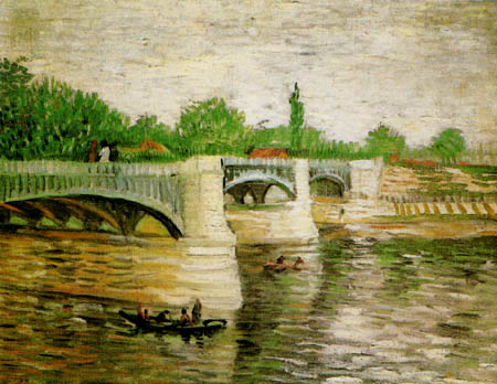 Vincent van Gogh - Die Seine und Pont de la Grande Jatte