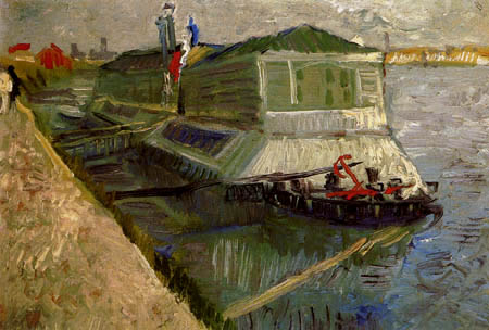 Vincent van Gogh - A boat on the Seine near Asnieres