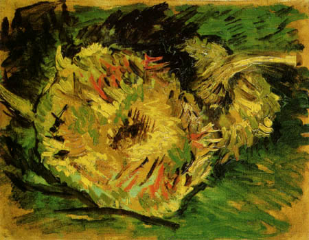 Vincent van Gogh - Zwei abgeschnittene Sonnenblumen