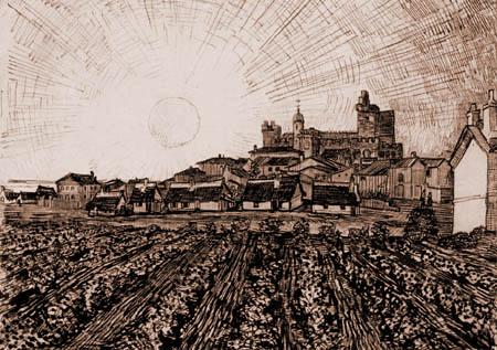Vincent van Gogh - View of Saintes-Maries