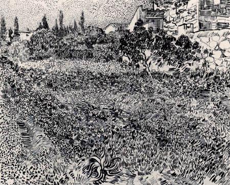 Vincent van Gogh - Flowers garden