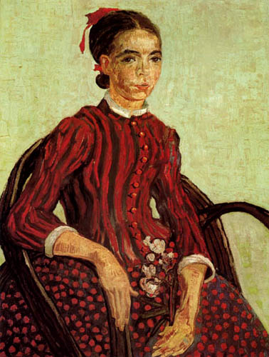 Vincent van Gogh - La Mousmé im Lehnstuhl