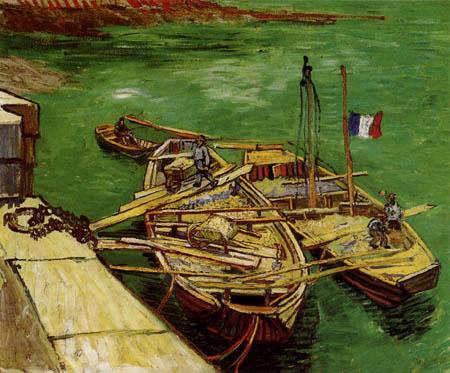 Vincent van Gogh - Rhonebarken