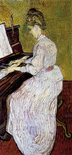 Vincent van Gogh - Marguerite Gachet am Klavier