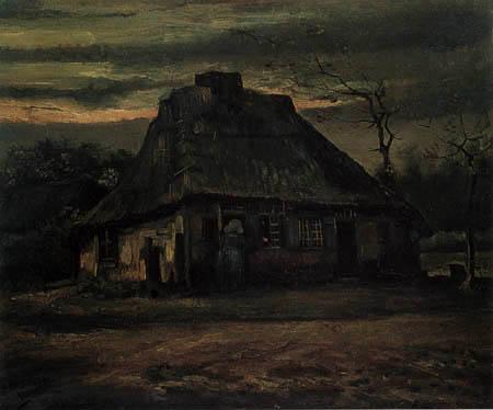Vincent van Gogh - Die Hütte