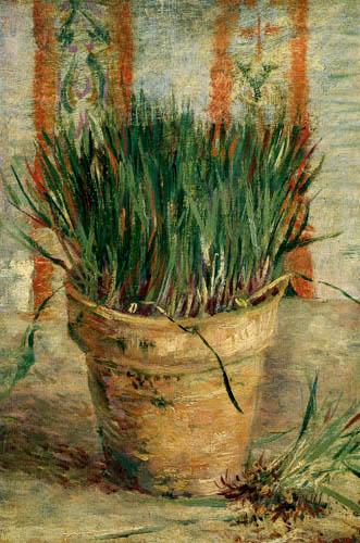 Vincent van Gogh - Flowerpot with chives