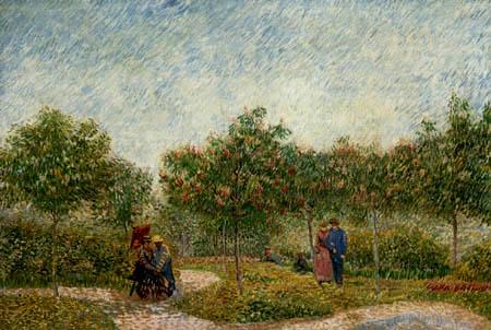 Vincent van Gogh - Lovers in Asnieres
