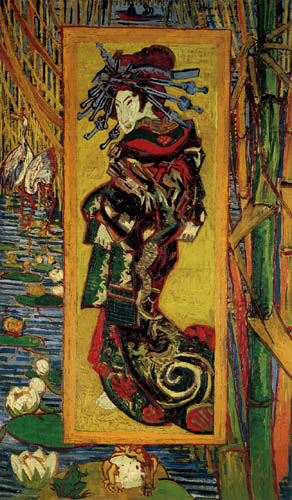 Vincent van Gogh - The courtesan