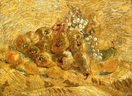 Vincent van Gogh - Stillleben mit Birnen, Quitten und Zitronen