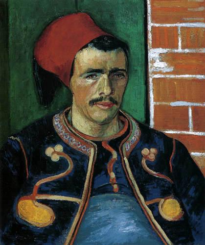 Vincent van Gogh - El zuavo