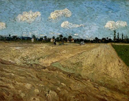 Vincent van Gogh - Después de la cosecha