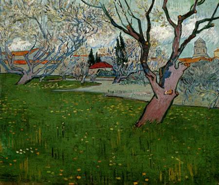Vincent van Gogh - Flowering orchard