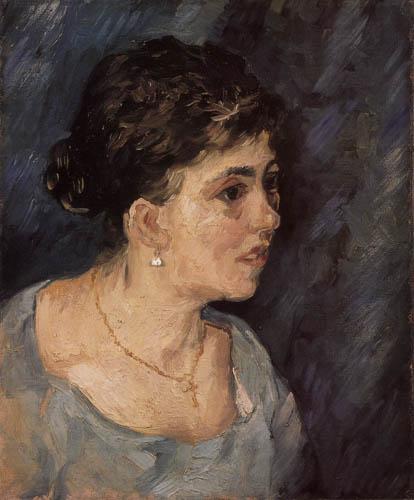 Vincent van Gogh - Ein Frauenkopf