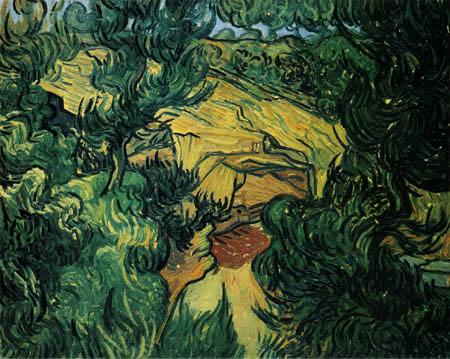 Vincent van Gogh - Eingang zu einem Steinbruch