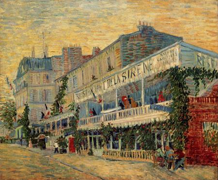 Vincent van Gogh - Restaurant 'de la Sirene' in Asnieres