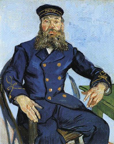 Vincent van Gogh - Der Postmann Joseph Roulin