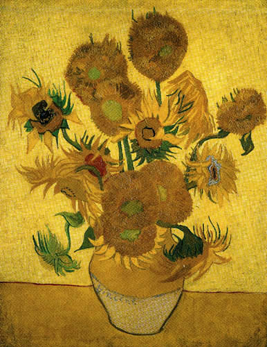 Vincent van Gogh - Fourteen sunflowers