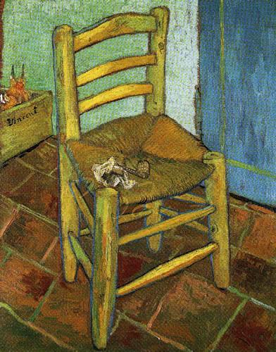 Vincent van Gogh - Van Gogh´s Stuhl