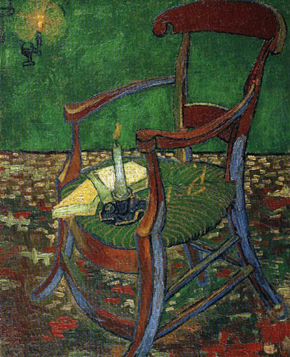 Vincent van Gogh - Chair of Gauguin
