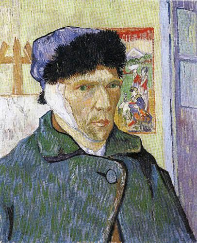 Vincent van Gogh - Selbstbildnis mit Verband
