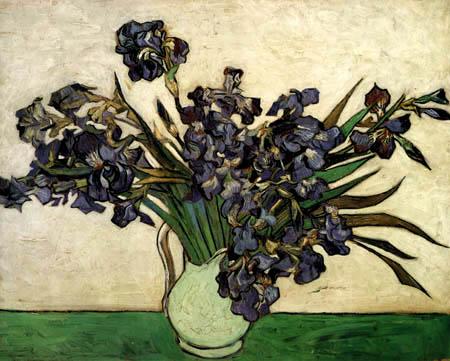 Vincent van Gogh - Vase mit Schwertlilien