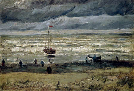 Vincent van Gogh - Seeansicht bei Scheveningen