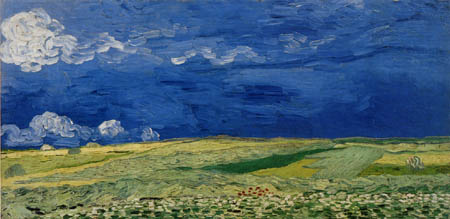 Vincent van Gogh - Wheatfields beneath Thunderclouds