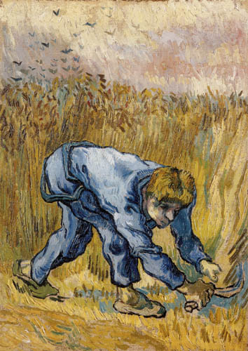 Vincent van Gogh - Mower