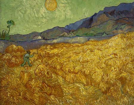 Vincent van Gogh - Cornfield