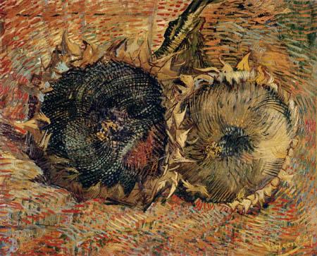 Vincent van Gogh - Zwei Sonnenblumen