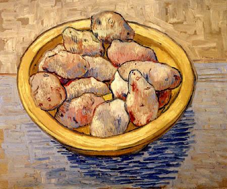 Vincent van Gogh - A plate of potatos