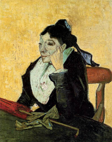 Vincent van Gogh - Woman from Arles