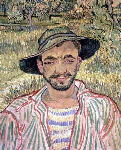 Vincent van Gogh - Bildnis eines jungen Bauern