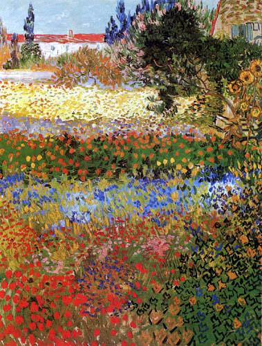 Vincent van Gogh - Blumengarten