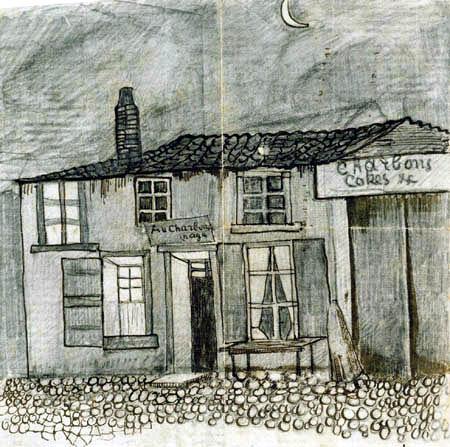 Vincent van Gogh - The restaurant