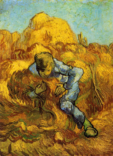 Vincent van Gogh - The Grain Binder