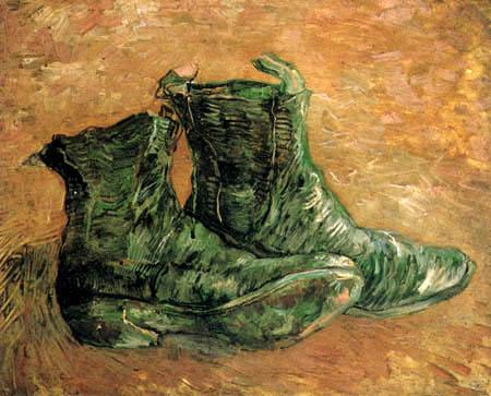Vincent van Gogh - Ein Paar Schuhe