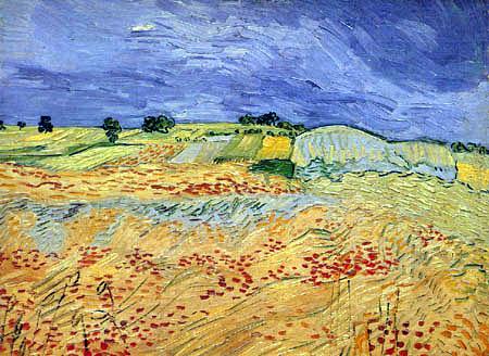Vincent van Gogh - The Plane at Auvers