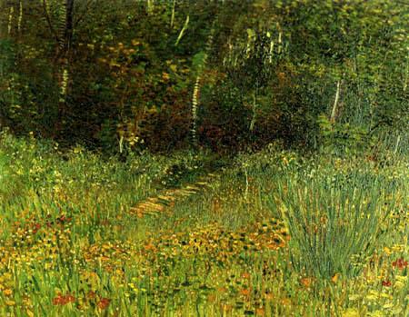 Vincent van Gogh - Park in Asnières im Frühling