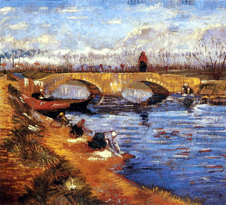 Vincent van Gogh - Pont de Gleize near Arles