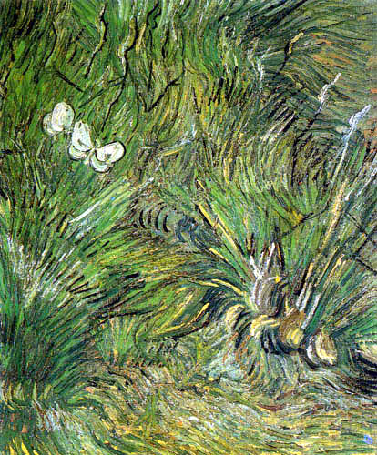 Vincent van Gogh - Zwei weiße Schmetterlinge